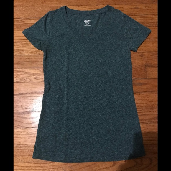 c1b4df1fe Mossimo Supply Co. Tops | Mossimo Womens Short Sleeve Vneck Size Xs ...